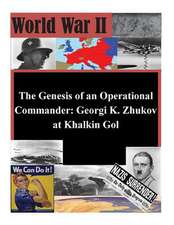 The Genesis of an Operational Commander
