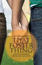 That Foster Thing