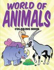 World of Animals Coloring Book