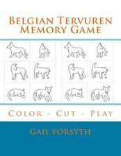 Belgian Tervuren Memory Game
