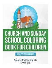 Church and Sunday School Coloring Book for Children