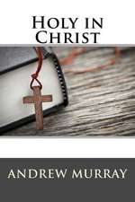 Holy in Christ