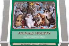 Animals' Holiday - Vintage Holiday Boxed Cards: 12 Holiday Greeting Cards