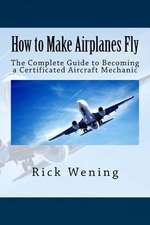 How to Make Airplanes Fly