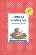 Justice's Reading Log:  My First 200 Books (Gatst)