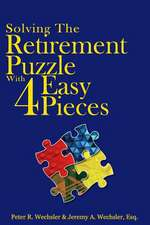 Solving the Retirement Puzzle with Four Easy Pieces