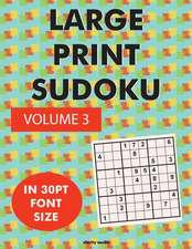 Large Print Sudoku Volume 3