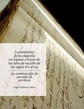 La Ensenanza de La Caligrafia En Espana