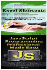 Excel Shortcuts & JavaScript Professional Programming Made Easy