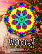 Women Coloring Book - Vol.1