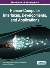 Handbook of Research on Human-Computer Interfaces, Developments, and Applications