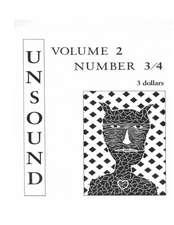 Unsound, Volume 2, #3/4