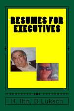 Resumes for Executives