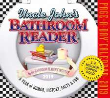 Uncle John's Bathroom Reader Page-A-Day Calendar 2019
