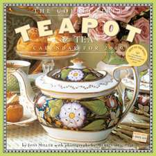 Collectible Teapot & Tea Wall Calendar 2019