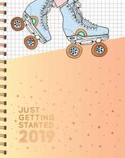 Just Getting Started 17-Month Large Planner 2019