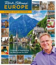 RICK STEVES EUROPE PICTUREADAY WALL CALE