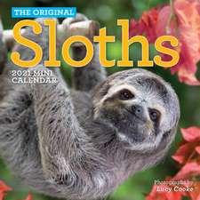 Original Sloths Mini Wall Calendar 2021