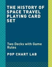 The History of Space Travel Playing Card Set: Two Decks with Game Rules