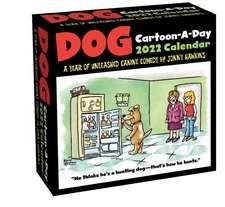 Dog Cartoon-A-Day 2022 Calendar