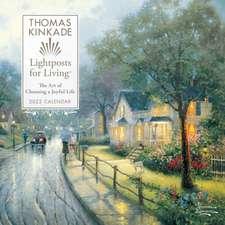 Thomas Kinkade Lightposts for Living 2022 Wall Calendar