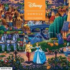 Disney Dowdle 2022 Wall Calendar