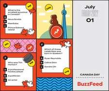 BuzzFeed 2022 Day-to-Day Calendar