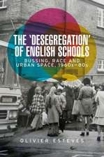 'Desegregation' of English Schools