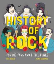 HISTORY OF ROCK FOR BIG FANS AND