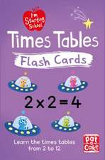 Pat-a-Cake: I'm Starting School: Times Tables Flash Cards