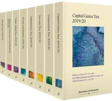 Bloomsbury Professional Tax Annuals 2019/20: Extended Set