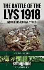 Battle of the Lys 1918: North