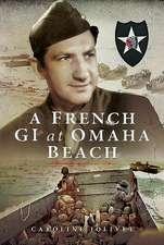 French GI at Omaha Beach