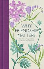 Why Friendship Matters