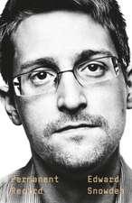 Snowden, E: Permanent Record