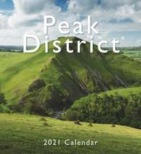 Peak District Mini Easel Desk Calendar 2021