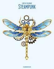 Livre de Coloriage Steampunk 2