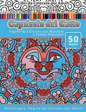Libri Da Colorare Per Adulti Capriccio del Gatto