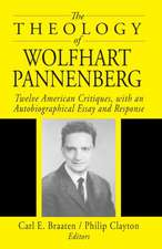 The Theology of Wolfhart Pannenberg