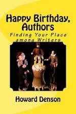 Happy Birthday, Authors