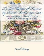 Twelve Months of Flowers by Robert Furber 1674 -1756