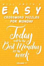 Will Smith Easy Crossword Puzzles for Monday - ( Vol.1 )