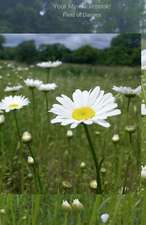 Your Mini Notebook! Field of Daisies
