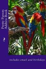 Pretty Parrots Address Book