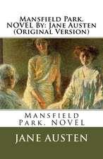 Mansfield Park. Novel by