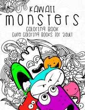 Kawaii Monsters Coloring Book