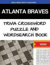 Atlanta Braves Trivia Crossword Puzzle and Word Search Book