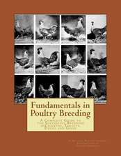 Fundamentals in Poultry Breeding