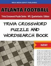 Atlanta Football Trivia Crossword Puzzle Series - NFL Quarterbacks Edition