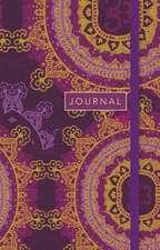 Star Floral Mandala, Sermon Notes Journal